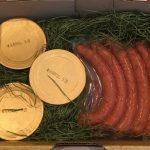 山口市へのふるさと納税 船方農場のウィンナー、ヨーグルト、チーズをいただきました
