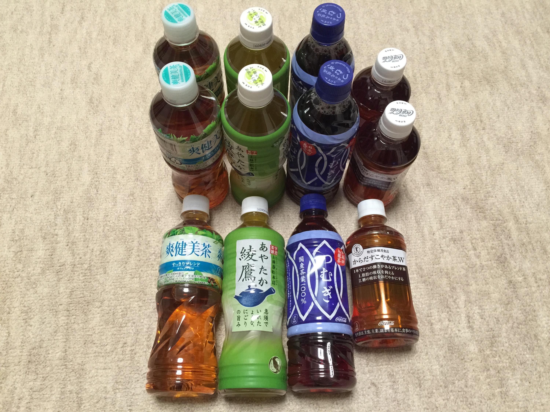 コカ・コーラウエストからの株主優待 お茶のセット12本