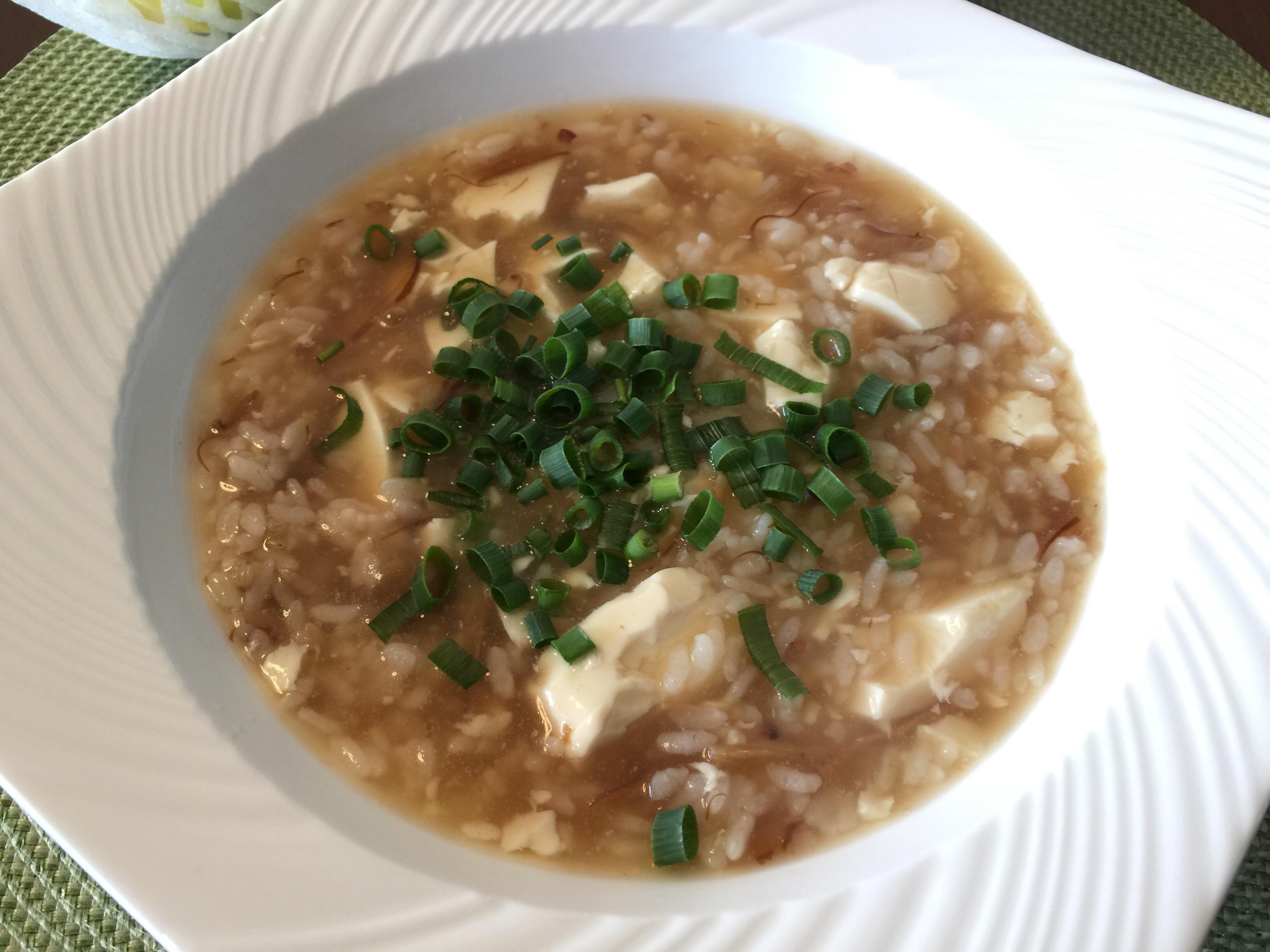 八洲電機からの株主優待 気仙沼のふかひれスープをいただきました