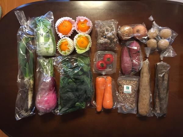 デリカフーズ 1,000株保有の株主優待 6,000円相当の野菜・果物セット