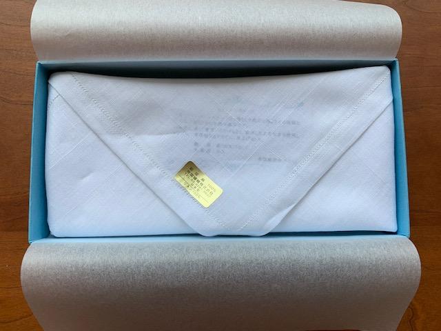 帝国繊維の株主優待 クオカードとおしゃれで良質なハンカチ 届きました